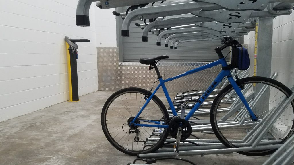 Bike Rack Installation by Bike and Park 4