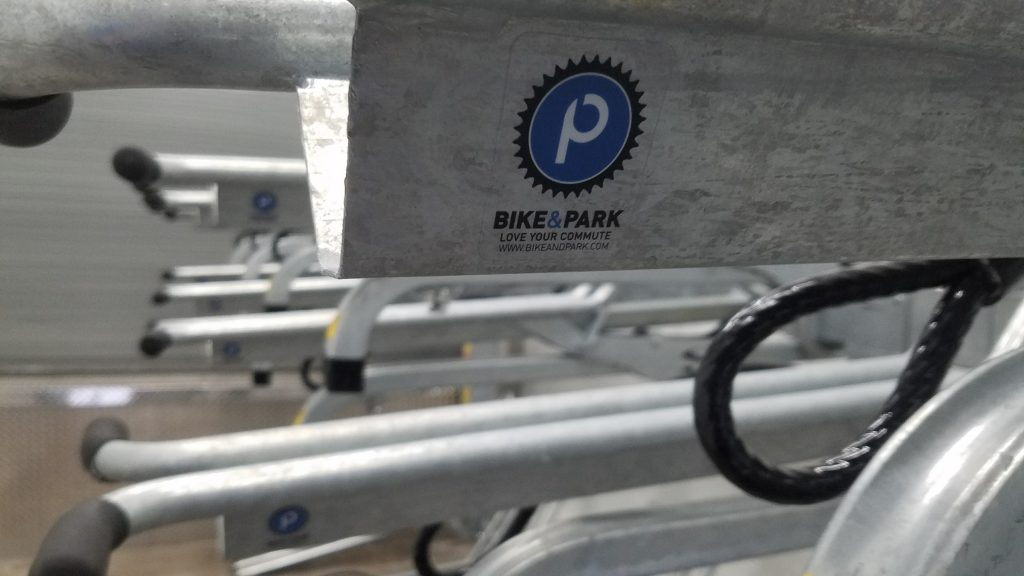 Bike Rack Installation by Bike and Park 3