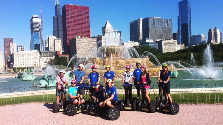 chicago segway tours - glide along with chicago's best tours!