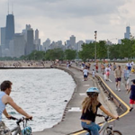 bike map - lakefront route
